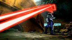 Darkseid New God of All Evil Omega Beams