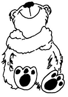 Vinilo pared Teddy bear