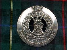 The Royal Scots (The Lothian Regiment) Piper's plaid brooch.