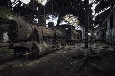 Abandoned Train Station [825x550]
