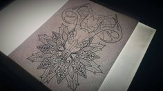 #tattoo #sketch #drawing #design #deer #spider #web #spiderweb #heart #mandala #dotwork #madrid #dibujo #boceto #diseño #ciervo #tela #araña #corazon #mandala #puntillismo #geometry #geometria #geometrico #geometric