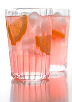 Grown Up Pink Lemonade: Vodka, Pink Lemonade Crystal Light, Diet Cherry 7UP, Light Beer, Ice, Lemon Wedges
