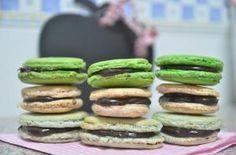 macarons Macarons, Fondant, Sushi, Ethnic Recipes, Food, Decorated Cookies, Fondant Icing, Eten