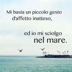 I and the sea