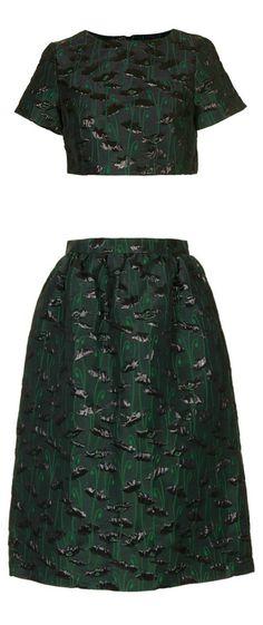 1902dec33b8 Topshop Crop Top   Skirt