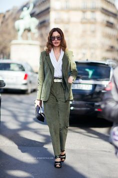 Olive green with envy