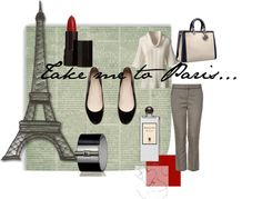 """""""Take Me To Paris"""" by pretemoiparis on Polyvore--- Headed there soon!!"""