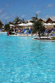 Margaritaville Pool, Grand Turks, Caribbean