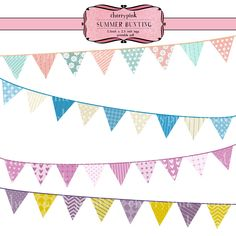 more cute bunting banner