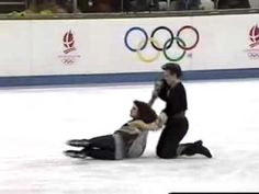 Most beautiful pairs ice dancing performance I've ever seen. 1992 Olympics, Marina Klimova & Sergei Ponomarenko: Free Dance (CBS) Yes and he is my coach! Olympic Ice Skating, Roller Skating, Figure Ice Skates, Figure Skating, 1992 Olympics, Gym Leotards, Skate Gif, Ice Show, Olympic Gold Medals