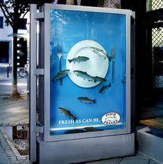 Five super creative bus stop advertisements.