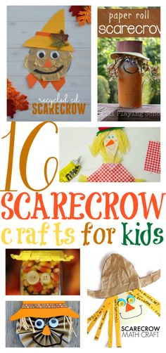 16 Fun Scarecrow Crafts for Kids