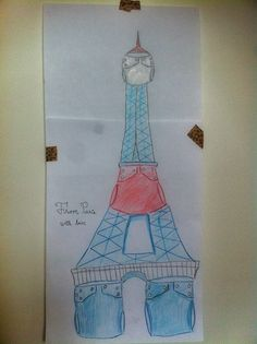 FuzziBunz Eiffel Tower by Jill Torres