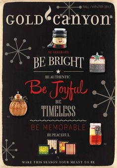 New 2013 Fall Holiday Catalog is here! I would be happy to get this hot catalog in your hands!
