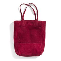 Stitch Fix Winter Essentials: A carryall in a bold hue is a great way to liven up any winter look.