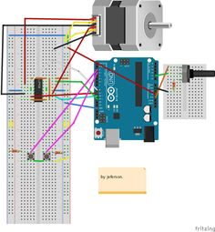 Diy android home automation n pinterest android arduino control the direction and speed of stepper motor using arduino tinkbox fandeluxe Images