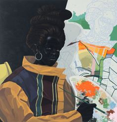 Kerry James Marshall Brings The Story Of Black America To The Halls Of The Met