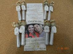 Convite Casamento No Tubo Modelo Rustico | Analu Ateliê e Design | 342799 - Elo7