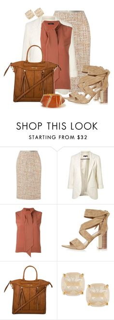 """""""Fall 4 Office"""" by hope-houston ❤ liked on Polyvore featuring WithChic, Roberto Collina, River Island, Tony Bianco and Kate Spade"""
