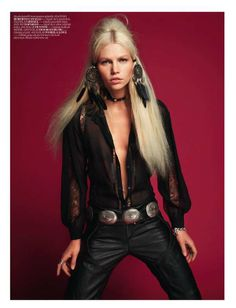 ❦ Couture Cowgirl Editorials | Vogue