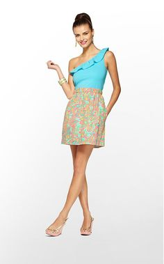 The perfect summer getup, the Dionne Dress from Lilly Pulitzer
