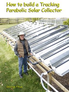 how to build a tracking solar heater