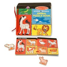 Amazon.com: Melissa & Doug Animal Puzzle Book: Toys & Games