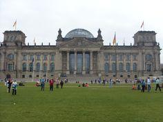 The parliament building near...Brandenburger Tor Berlin Sep 10, 2011