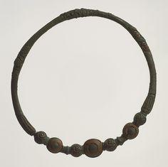 Torque (Neck Ring), 4th–3rd century b.c.; European Iron Age  Celtic  Copper alloy   Diam. 6 1/8 in. (15.5 cm)