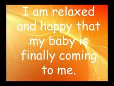 Hypnobirthing Affirmations and Visualisations video