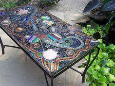 Bohemian Mosaic Table photo by StJohns Gypsy