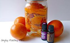 DIY lavender citrus all purpose cleaner - Simply Healthy Home