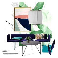 """Mizuki Goto Collage art..."" by gloriettequartet ❤ liked on Polyvore featuring interior, interiors, interior design, home, home decor, interior decorating, West Elm, Ay Illuminate, Fendi and Kendall + Kylie"