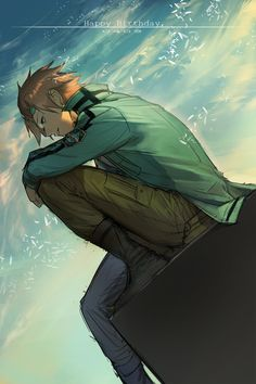 jin san.. coolest character in world trigger*dont forget yuma koga) Yuichi Jin _World Trigger