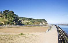 Playa El Puntal #Villaviciosa #playa #beach #Asturias #ParaísoNatural…