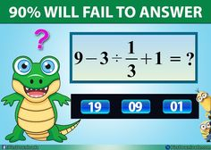 Try to solve this simple, but confusing Math Puzzle – Genius Math Puzzles Mind Puzzles, Logic Puzzles, Puzzles For Kids, Fun Math, Math Games, Math Class, Teaching Multiplication, Math Magic, Fun Brain