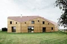 Maison + hangar agricole I Cagny - Guillaume Ramillien Architecture Urbanisme Illustration