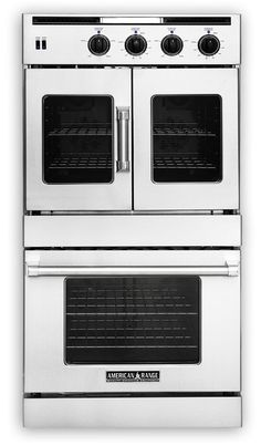 View Of The Double Wall Ovens Built In Microwave Gas
