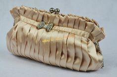 Clutch Handbag Women`s Satin Party Evening Bag Purse Wallet 4 Colors | eBay