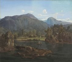 lars hertervig - Google-søk Kitsch, Norway, Coastal, Mountains, Landscape, Painting, Travel, Google Search, Pictures