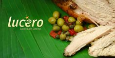 Lucero Caribbean Cuisine Catering - Logo Catering Logo, Caribbean, Identity, Branding, Chicken, Food, Kitchens, Meal, Essen