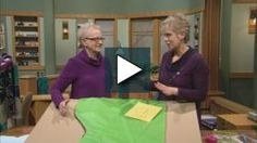 All occasion fabric wraps, part 2 Sewing With Nancy Videos | Wisconsin Public Television