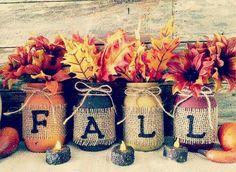 Jarrones para otoño