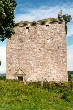 The Macdowall's Barr Castle in Scotland (photo by Mary Kay and Les McDowell)