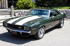 Chevrolet Camaro RS Z/28 1968.  OMG. My dad had one exactly like this. I will have it again some day