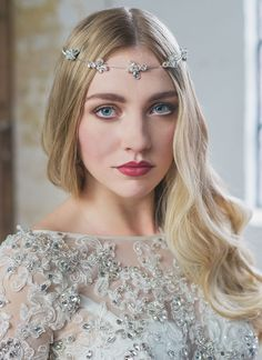 Your so pretty, oh so pretty! This is the Leah browband from the lovely @natashajane new Marry me collection.