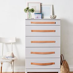 Give Your Dresser a Stylish Makeover with Easy-to-Install Drawer Pulls | Martha Stewart Living