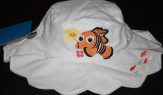 Disney Baby Nemo Infant 0-6 Months Sun Hat UPF 50+ #Disney #Nemo #Summer #beach #Hat #Style #Cute #DisneyStore