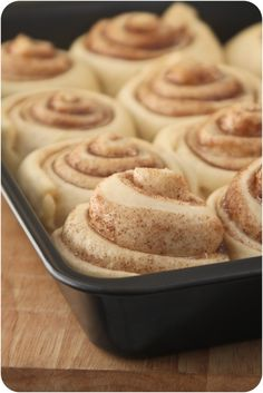 pozniak's | blog: Cinnamon Rolls
