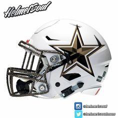America's Team nfl jersey sales by team New Nfl Helmets, Football Helmet Design, Cowboys Helmet, College Football Helmets, Dallas Cowboys Logo, Nfl Football Players, Custom Football, Football Gear, Football Uniforms